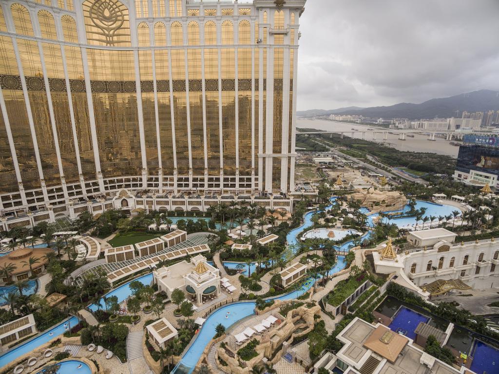 Vortex Aquatic Structure - Galaxy Macau Resort Project