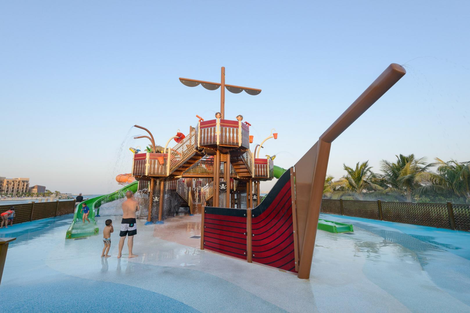 Vortex Aquatic Structure - Double Tree Marjan Island Project