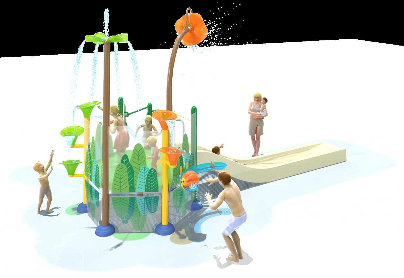Vortex Aquatic Structure - L2-450b Elevation