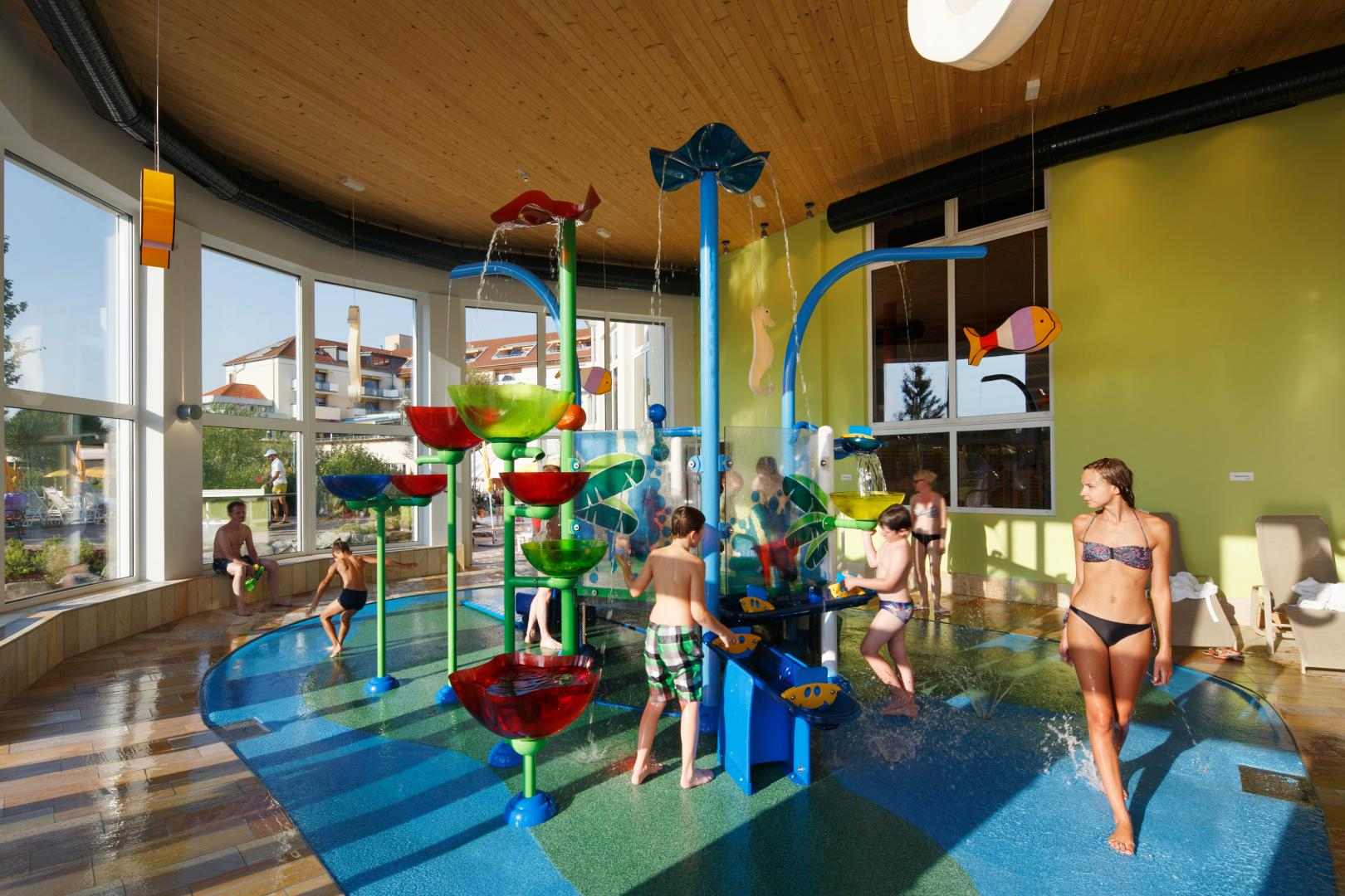 Vortex Aquatic Structure - Reiters Finest Family Hotel Project