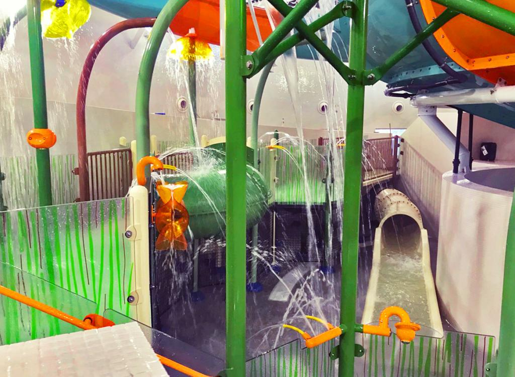 Vortex Aquatic Structure - The Wave Coventry Project