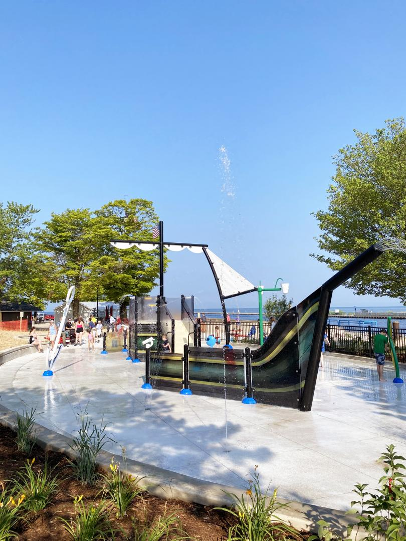 Vortex Aquatic Structure - Riverfront Park Project