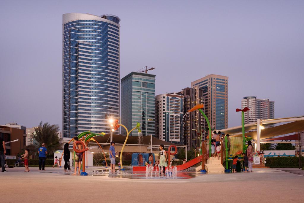 Vortex Aquatic Structure - Al Majaz Waterfront Project
