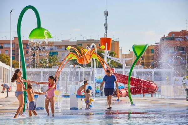 Vortex Aquatic Structure - Piscina Municipal de Verano Project